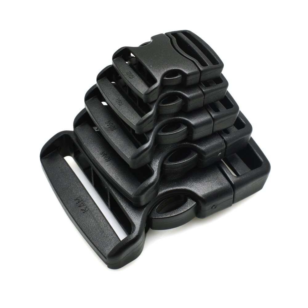 1pcs/lot 20mm 25mm 32mm 38mm 50mm Webbing Detach Buckle for Outdoor Sports Bags Students Bags Luggag