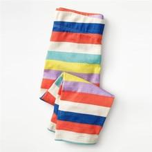 Jumping meters 2-7t Childrens girls pants legging autumn multi colors stripe full pants baby girls pencil pants kids trousers