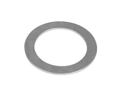 Wkooa-حلقات دعم غسالة Shim ، فولاذ كربوني ومطلي بالزنك ، 20 × 28 × 2