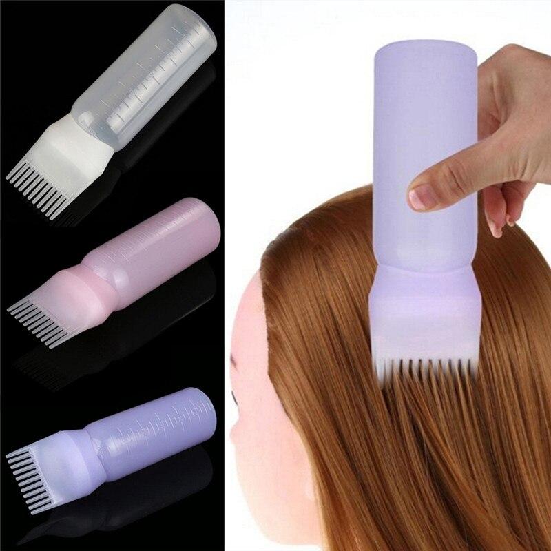 New Arrival Hair Dye Bottle Applicator Brush Dispensing Salon Hair Coloring Dyeing Gift For Girls 1Pc