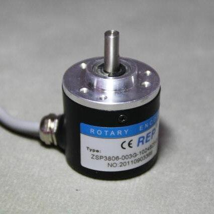 Envío Gratis Incremental fotoeléctrico codificador rotatorio ZSP3806-1000P/R 1000, pulso 1000 Alambre de ABZ