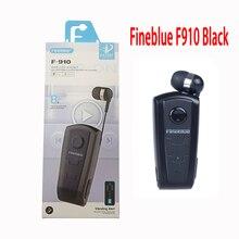 Fineblue F910, auricular inalámbrico portátil de negocios a la moda con Bluetooth, auricular en la oreja