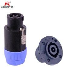 1set 8pins Sprechen Stecker Lautsprecher NL8 Lautsprecher Verstärker Adapter sprechen Stecker & Weibliche Jack