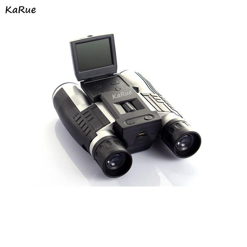 "Digital Cameras 12x32 HD Binocular Telescope 2.0"" TFT HD 1080P 5MP ' TFT Screen Video Cameras TF Card"