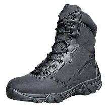 Chaussures de randonnée hommes femmes armée bottes tactiques militaire Combat chaussure Bota Militar Trekking chasse pêche bottes Chaussures Randonnee