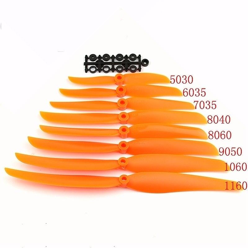 FATJAY RC EP propeller 2 Лопасти prop 5030 6035 7035 8040 8060 9050 1060 1160 прямой привод с адаптером шайбы, прокладка для самолета