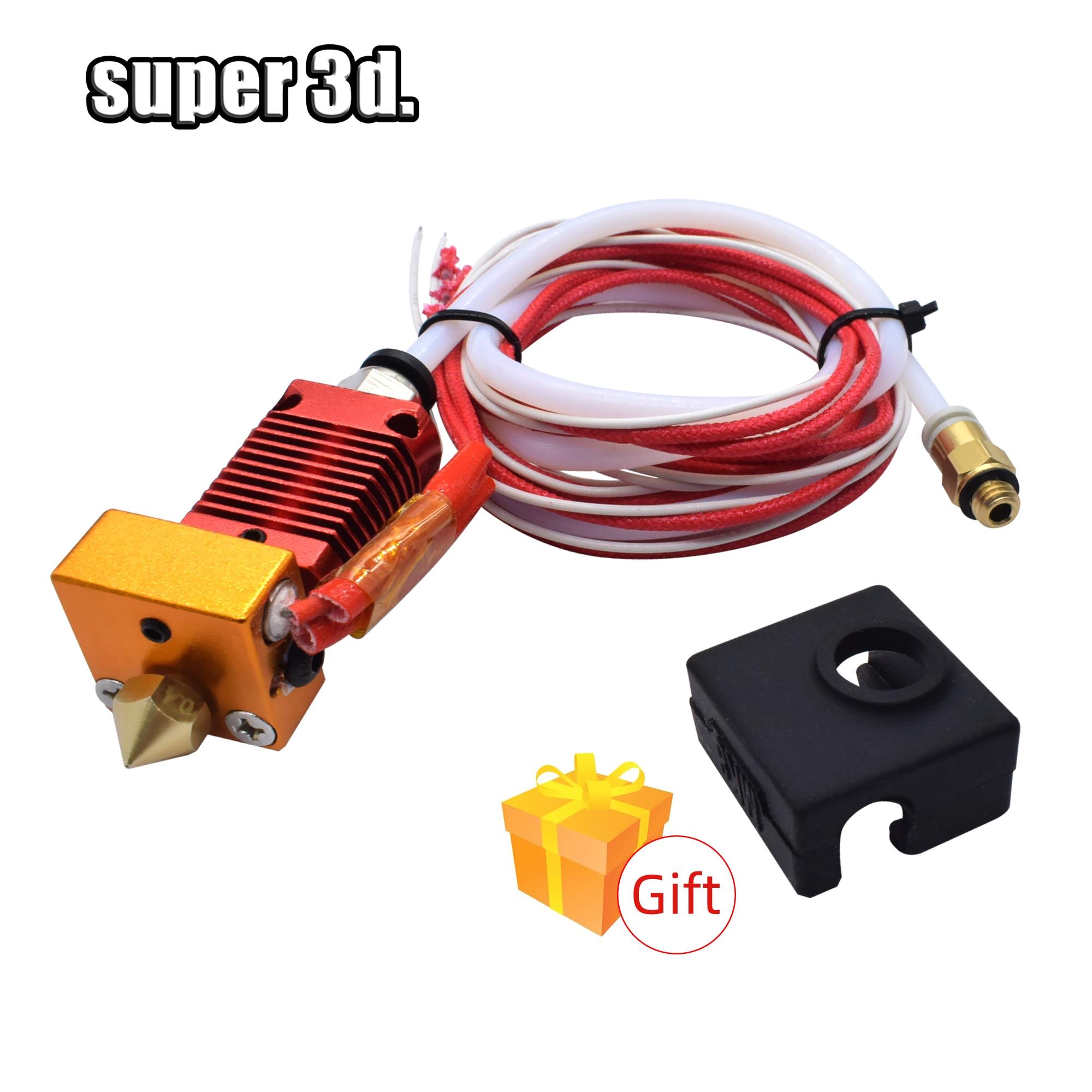 3D Volle Metall J-kopf CR10 Hotend Extrudieren Hot End Kit für creality Ender-3/5 pro CR10 10s Bowden Extruder 12/24V 3D Drucker Teile