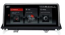 GPS Raido tactile pour BMW X5 E70   10.25 pouces, voiture intelligente, 2007-2013)/BMW X6 E71(2007-2014), lecteur multimédia, BT SD, USB AUX