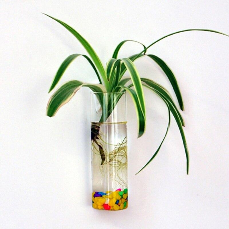 2018 настенная стеклянная Цветочная ваза, горшок для растений, Террариум, домашний сад