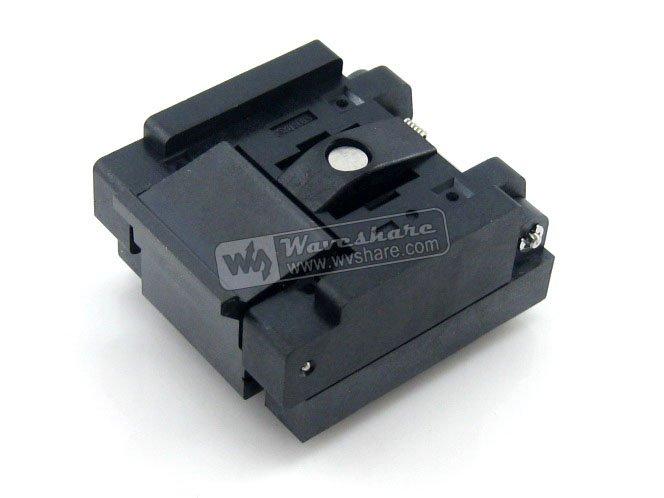 QFN32 MLP32 MLF32 QFN-32(40)BT-0.5-02 Enplas QFN 5x5x5mm 0,5 tono de prueba quemar en el zócalo con Pin