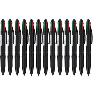 New 6 pcs colored ballpoint pen 0.7 mm red blue green black ink pen office & school stationary supplies cute writing gel pens