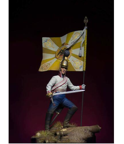 1/24 75MM ancient warrior Prince Austerlitz 75 mm   Resin figure Model kits Miniature gk Unassembly Unpainted
