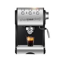 stainless steel Coffee machine Semi-automatic Italian commercial steam milk foam coffee maker 20bar 220v 1050w 1pc