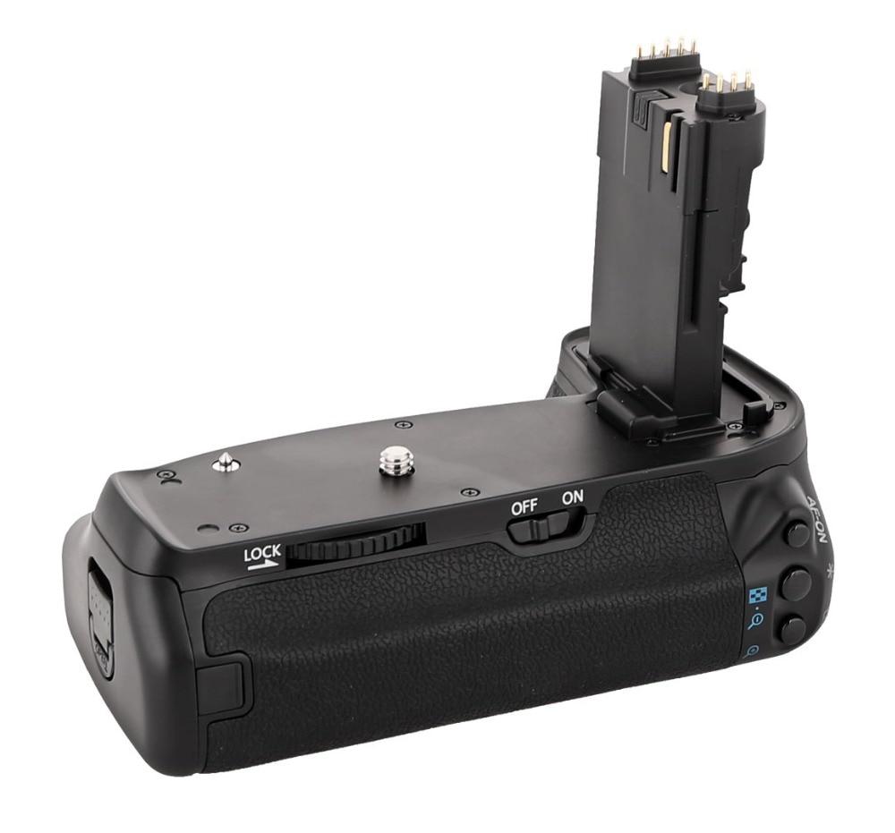 MEKE Meike MK-70D BG-E14 Vertical Battery Grip Holder For C EOS 70D 80D 90D Cameras