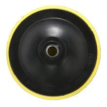 M14 support tampon polissage tampon de polissage plaque disque adhésif soutenu meuleuse roue pour Air ponceuse voiture polisseuse tampon 75mm 125mm