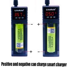 LiitoKala lii-S1 18650 chargeur de batterie pour 26650 16340 RCR123 14500 LiFePO4 1.2V Ni-MH ni-cd batterie rechargeable chargeur intelligent