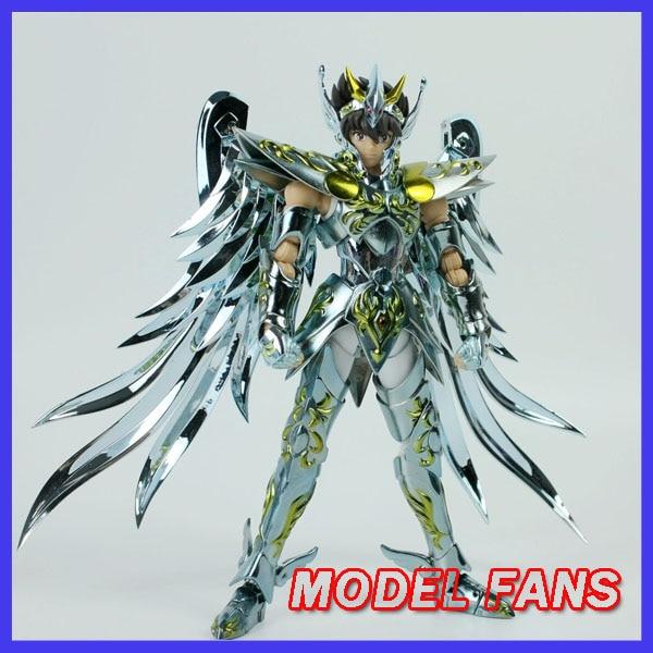 Модели фанатов в наличии GreatToys отличные игрушки EX bronze Saint Pegasus Seiya V4 god cloth metal armor Myth Cloth фигурку