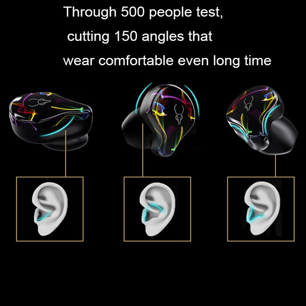 OKCSC X12 Bluetooth 5.0 Sport Earphones Waterproof IPX5 Wireless Headset with Mic Button Control Noise Cancelling Stereo Earbuds enlarge