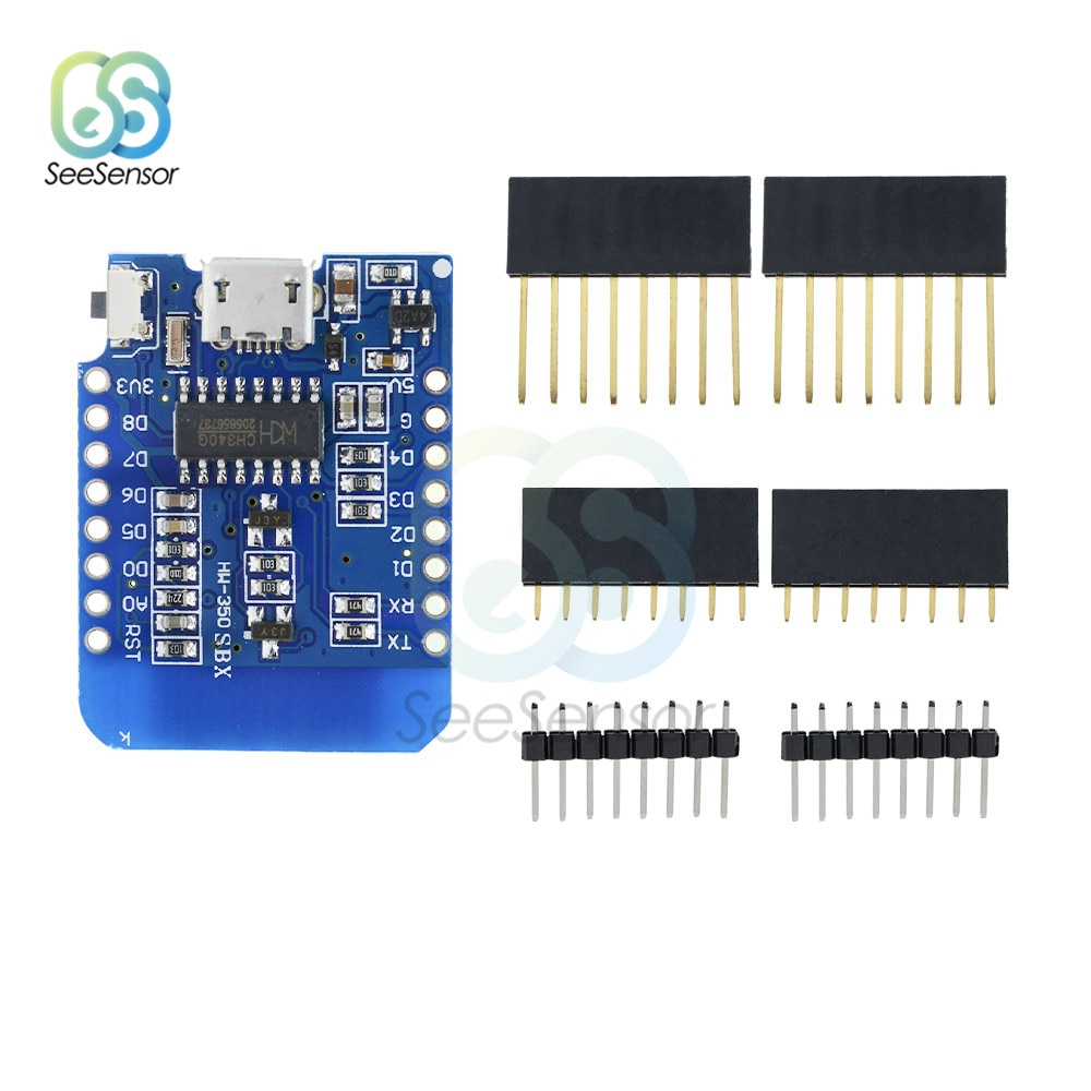 WeMos D1 Mini WiFi Wireless Development Module ESP8266 ESP-12E ESP-12F CH340 CH340G for Arduino D1 Mini NodeMCU IOT WiFi Board недорого