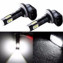 2Pcs/set 100W LED Fog Driving Lights Bulb 881 862 886 889 894 896 898 Cool White Car Light