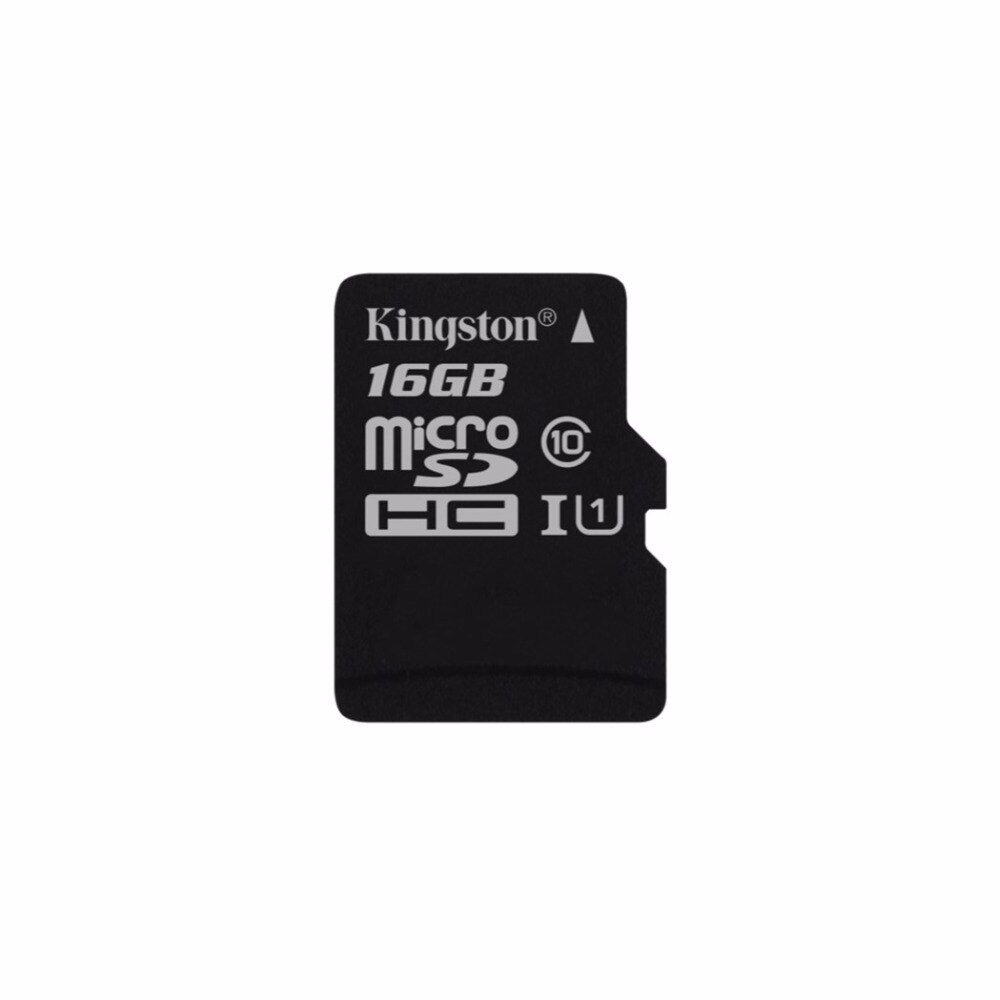 Tecnología Kingston de seleccionar 16 GB uhs-1, Clase 10 UHS-I 80 MB/S... Negro