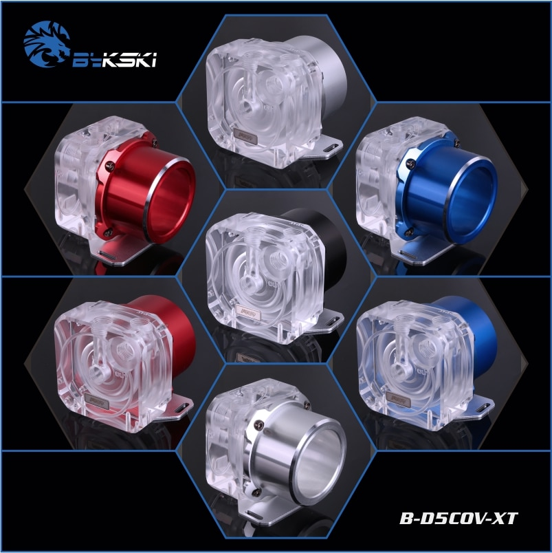 Bykski B-D5COV-XT Pumpe Top und Kühlkörper für D5 MCP655