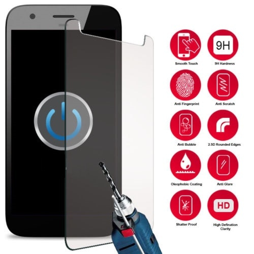 Tempered Glass For Micromax Bolt Q357 Q 357 Smartphone 9H Screen Protector Film