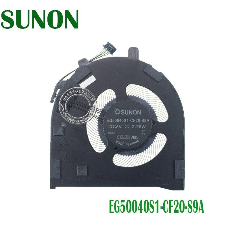 Original Ventilador de refrigeración para portátil EG50040S1-CF20-S9A DC5V 2,25 W 5PIN para Lenovo Thinkpad E490S