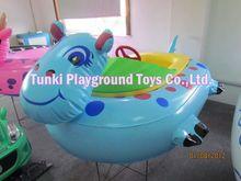 Kids fun children electric inflatable motor bumper boat