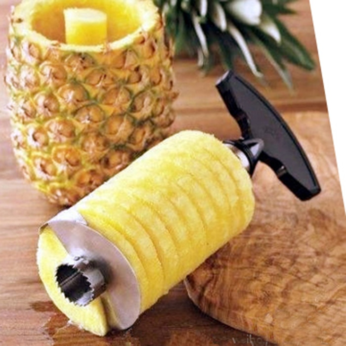 Pelador de piña de Cuchillo de cocina de uso diario creativo y práctico de vida Simple