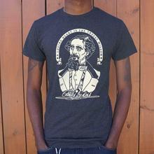Vintage Charles Dickens Zitieren T-Shirt (Herren) grafik tees größe S-3XL