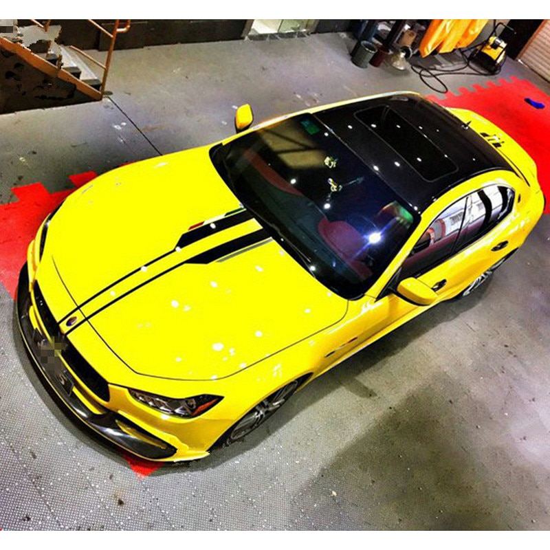 Pegatina decorativa para carrocería Exterior de coche con capucha modificada para mercedes-benz BMW Maserati Volkswagen deportivo de estilismo