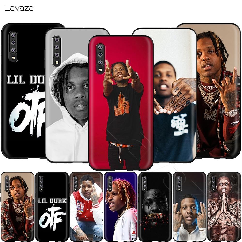 Lavaza Lil Durk caso para Samsung Galaxy S6 S7 borde J6 S8 S9 S10 más A3 A5 A6 A7 A8 A9 Nota 8 9