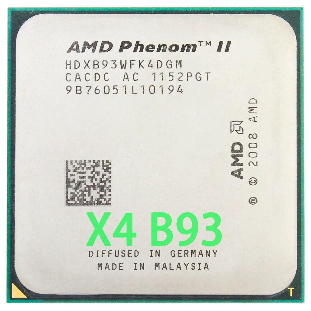 AMD Phenom II X4 B93 procesador de CPU Quad-Core (2,8 Ghz/ 6M...