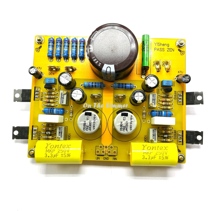 PASS ZEN 5W HIFI a single ended Amplifier Power Amplifier Amp small computer suite