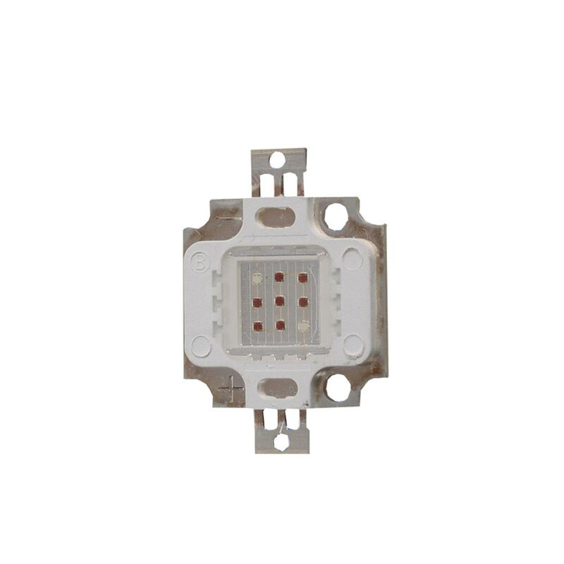 5X alta potencia 10 W integrado 660nm/450nm mezcla de color planta Cultivo led chip envío gratis