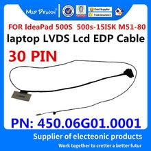 MAD DRAGON Brand laptop new LVDS Lcd EDP Cable For Lenovo IdeaPad 500S 500s-15 500s-15ISK M51-80 LCD