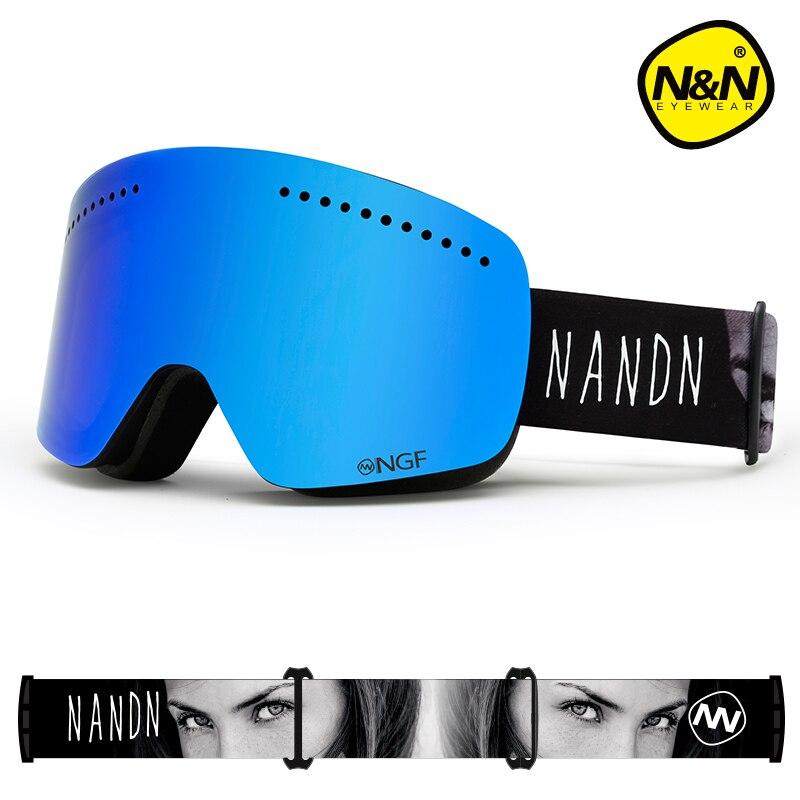 Фото - NANDN SNOW ski goggles double layers UV400 anti-fog big ski mask glasses skiing men women snowboard goggles nandn ski goggles double layers uv400 anti fog big ski mask glasses skiing men women snow snowboard goggles ng5