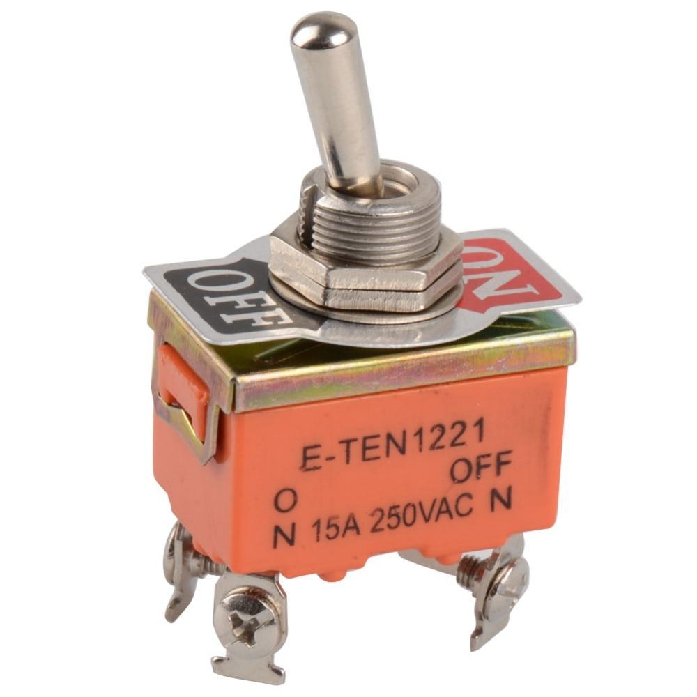 1 шт. 4-контактный тумблер ВКЛ-ВЫКЛ двухпозиционный переключатель 15A 250В VE147 P