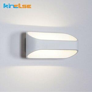 5W 10W LED Wall Lamps Modern European Style Foyer Living Room Bedroom Lamp Corridor Bedside Reading Lighting AC90-260V