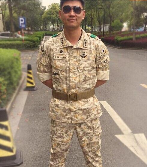 Военный Камуфляжный костюм, цифровой армейский костюм Дезерта, Тактический костюм для мужчин