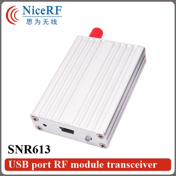 433 Mhz módulo RF SNR613 Puerto USB Módulo de nodo de red uso para transceptor de datos inalámbrico