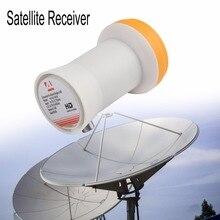 Universal ku-band único lnbf 9.75/10.6ku saída dupla completa hd digital ku lnb satélite receptor banda alta baixa