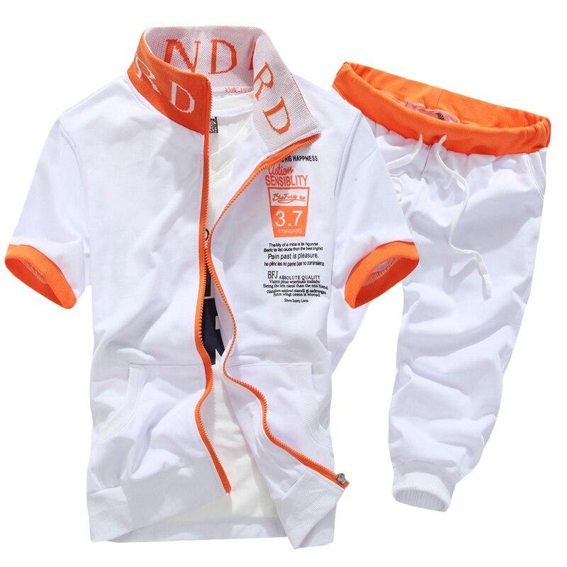 2020 nuevas llegadas moda hombres de manga corta chándal traje deportivo informal sudaderas y pantalones cortos M-XXL AYG276
