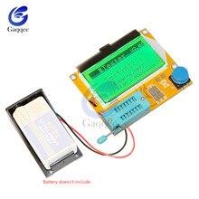Mega328 LCR-T4 Transistor testeur Diode Triode capacité LCR ESR Module de compteur MOS PNP/NPN M328 MOSFET bouclier de batterie multimètre