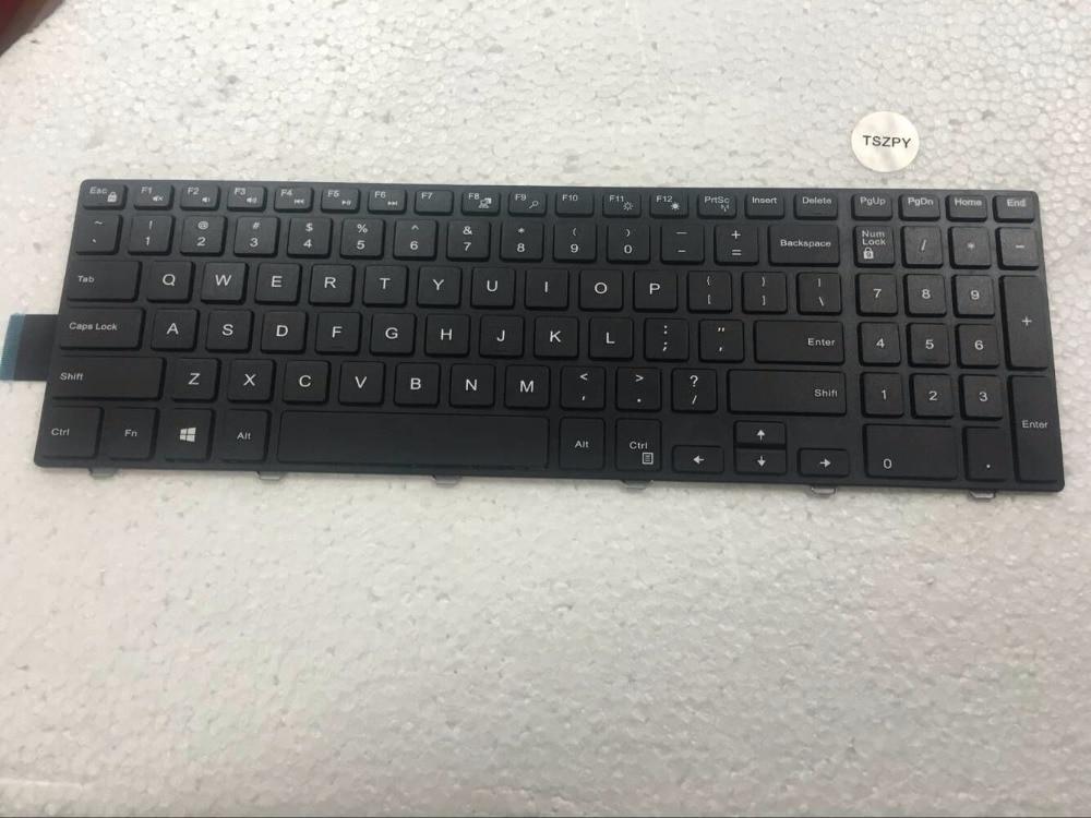¡Envío gratis! nuevo teclado Inglés para Dell inspiron 15 3000 Series 3541 3542 teclado Inglés para portátil