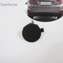 Soarhorse Auto Hinten Stoßstange Tow Haken Auge Abdeckung Kappe für Hyundai IX35 2011 2012 2013 2014 2015