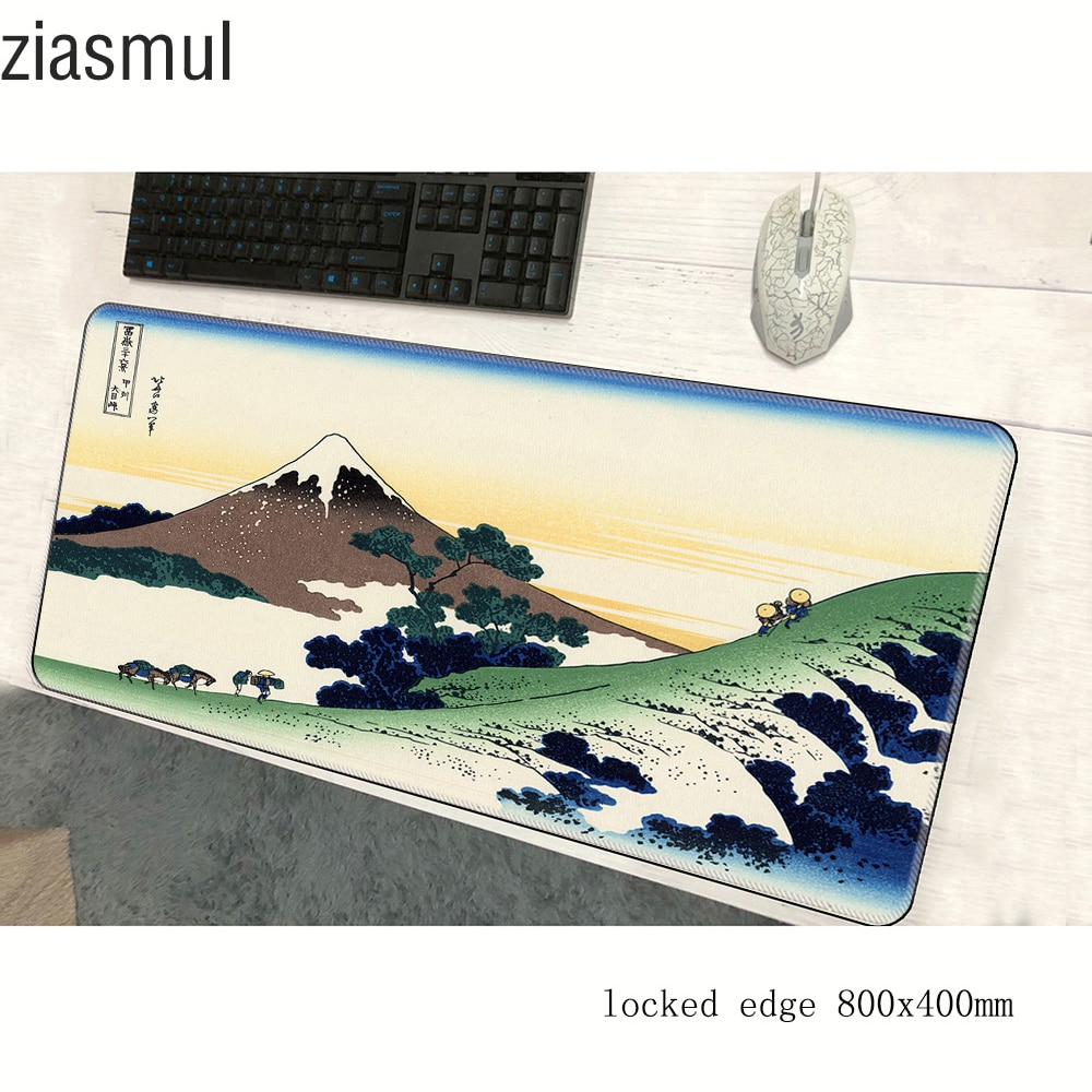 art mouse pad High quality pad to mouse notbook computer mousepad 800x400x2mm Fashion gaming padmous