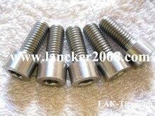 M8x20 Gr5 hexagonal cabeza de portalámparas titanium de tornillo de aleación de DIN912