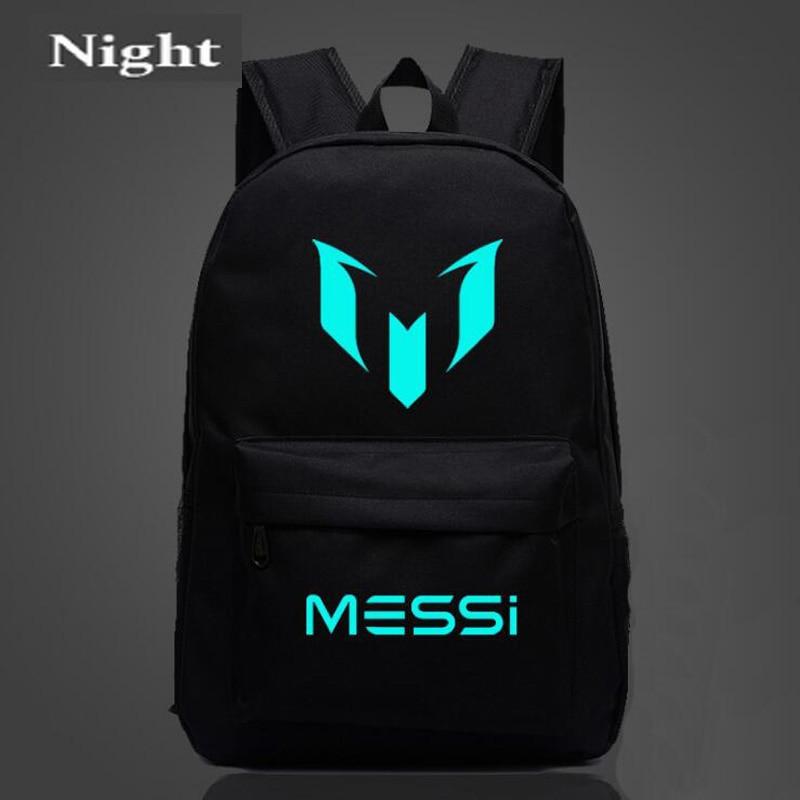 Рюкзак Messi с логотипом, дорожная сумка для мужчин и мальчиков, школьная сумка в подарок для подростков